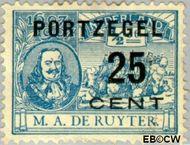 Nederland NL P41  1907 Portzegel 25 op ½ cent  Gestempeld