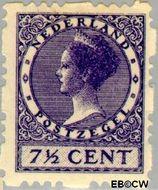 Nederland NL R32  1927 Type 'Veth' 7½ cent  Gestempeld