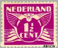 Nederland NL R59  1930 Type 'Lebeau' 1½ cent  Gestempeld
