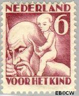 Nederland NL R88  1930 Jaargetijden 6+4 cent  Gestempeld