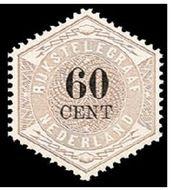 Nederland NL TG10  1877 Betaling telegraaf 60 cent  Gestempeld