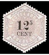 Nederland NL TG4  1877 Betaling telegraaf 12½ cent  Gestempeld