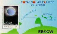 Nederlandse Antillen NA 1204  1998 Zonsverduistering  cent  Postfris