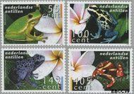 Nederlandse Antillen NA 1636#1639  2006 Kikkers  cent  Postfris