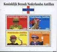 Nederlandse Antillen NA 1700  2006 Koninklijk Bezoek  cent  Postfris