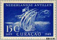 Nederlandse Antillen NA 208  1949 Ontdekking 15 cent  Gestempeld