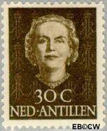 Nederlandse Antillen NA 228  1950 Type 'En Face' 30 cent  Gestempeld