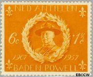 Nederlandse Antillen NA 258  1957 Padvinderij 6+1½ cent  Gestempeld