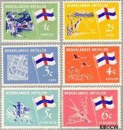 Nederlandse Antillen NA 358#363  1965 Eilanden 20+10 cent  Postfris