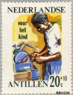 Nederlandse Antillen NA 378  1966 Werken 20 cent  Postfris