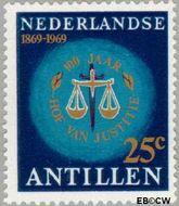 Nederlandse Antillen NA 409  1969 Hof van Justitie 25 cent  Gestempeld