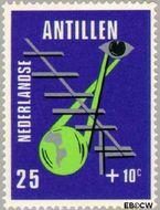 Nederlandse Antillen NA 429  1970 Media 25+10 cent  Gestempeld