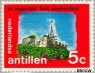 Nederlandse Antillen NA 449  1972 Eilanden 5 cent  Gestempeld