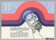 Nederlandse Antillen NA 459  1972 Elementen 30+15 cent  Gestempeld