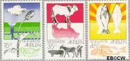 Nederlandse Antillen NA 522#524  1976 Landbouw  cent  Postfris