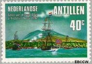 Nederlandse Antillen NA 529  1976 Onafhankelijkheid U.S.A. 40 cent  Gestempeld