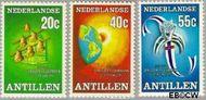 Nederlandse Antillen NA 548#550  1977 Juweliers  150 cent  Postfris