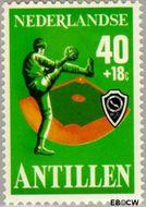 Nederlandse Antillen NA 579  1978 Sport 40+18 cent  Gestempeld