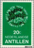 Nederlandse Antillen NA 589  1978 Energiebesparing 20 cent  Gestempeld