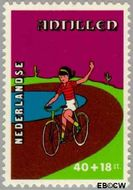 Nederlandse Antillen NA 599  1978 Kind en vrije tijd 40+18 cent  Gestempeld