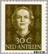 Nederlandse Antillen NA 609  1979 Type 'En Face' met diadeem 30 cent  Gestempeld