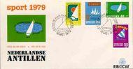 Nederlandse Antillen NA E122  1979 Sailing Regatta   cent  FDC zonder adres