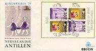 Nederlandse Antillen NA E125a  1979 Jaar van het Kind 70+25 cent  FDC zonder adres