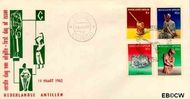 Nederlandse Antillen NA E20  1962 Voorwerpen 10+5 cent  FDC zonder adres