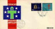 Nederlandse Antillen NA E24  1963 Caraïbisch congres 6+3 cent  FDC zonder adres