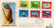 Nederlandse Antillen NA E69  1972 Eilanden 40+20 cent  FDC zonder adres