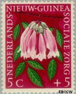 Nieuw-Guinea NG 57  1959 Sociale zorg 5+5 cent  Gestempeld