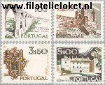 POR 1212#1215 Postfris 1973 Steden en landschappen