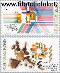POR 1677#1678 Postfris 1986 Toetreding Portugal en Spanje tot EU