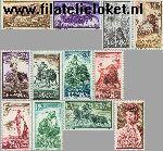 SPA 1151#1162 Postfris 1960 Stierenvechten