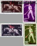 SPA 1211#1214 Postfris 1960 Sport