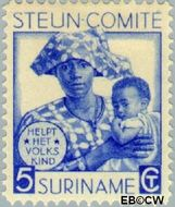 Suriname SU 148  1931 Steuncomité 5+3 cent  Gestempeld