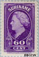 Suriname SU 238  1945 Koningin Wilhelmina 60 cent  Gestempeld