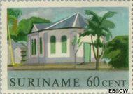 Suriname SU 369  1961 Historische gebouwen 60 cent  Gestempeld