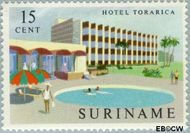 Suriname SU 387  1962 Gereedkomen nieuwe hotels 15 cent  Gestempeld