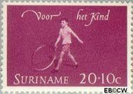 Suriname SU 417  1964 Kinderspelen 20+10 cent  Gestempeld