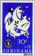 Suriname SU 457  1966 Service clubs 30+15 cent  Gestempeld