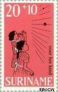 Suriname SU 507  1968 Kinderspelen 20+10 cent  Gestempeld