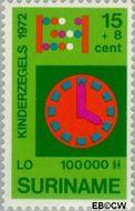 Suriname SU 587  1972 Onderwijs 15+8 cent  Gestempeld