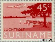 Suriname SU LP42  1965 Landschappen 45 cent  Gestempeld
