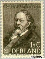 Nederland NL 296  1937 Bekende personen 1½+1½ cent  Postfris