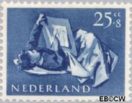 Nederland NL 653  1954 Opvoeding en leren 25+8 cent  Postfris