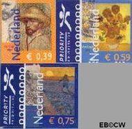 Nederland NL 2139#2141  2003 Vincent van Gogh  cent  Postfris