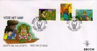 Aruba AR E72  1997 Kind en natuur  cent  FDC zonder adres