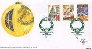 Aruba AR E114  2004 Decemberzegels  cent  FDC zonder adres