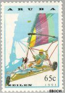 Aruba AR 126  1993 Zeilen 65 cent  Gestempeld